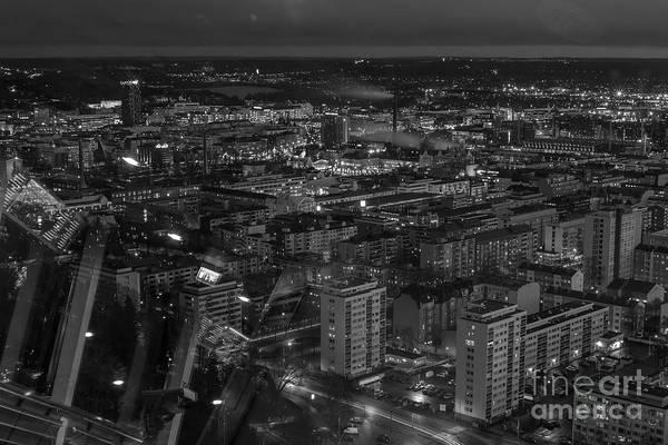 Night In Tampere Art Print by Tapio Koivula