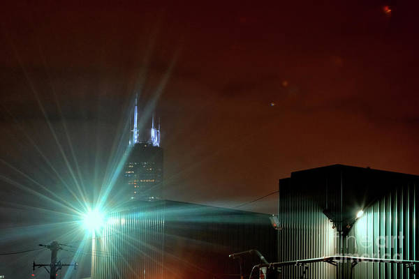 Wall Art - Photograph - Night In The Industrial City by Bruno Passigatti