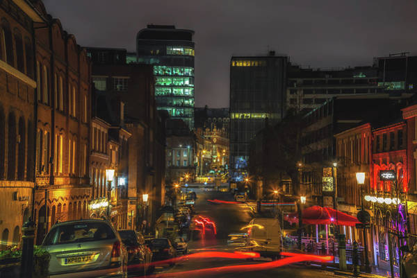 Photograph - Night In The Jewellery Quater by Chris Fletcher