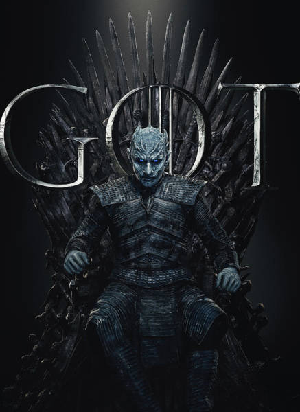 Wall Art - Digital Art - Night King Game Of Thrones by Geek N Rock