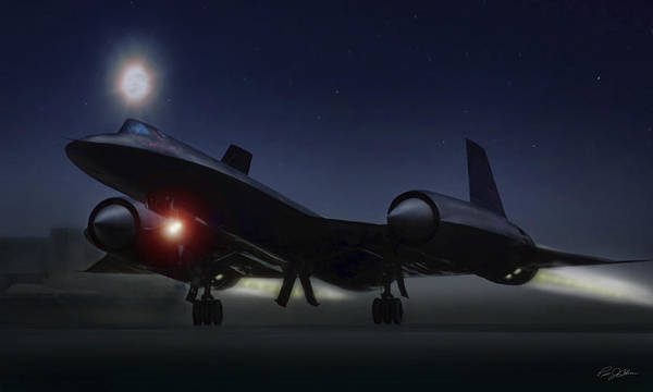 Wall Art - Digital Art - Night Launch by Peter Chilelli