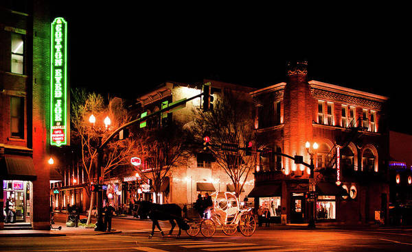 Wall Art - Photograph - Night Life At Nashville by Hyuntae Kim