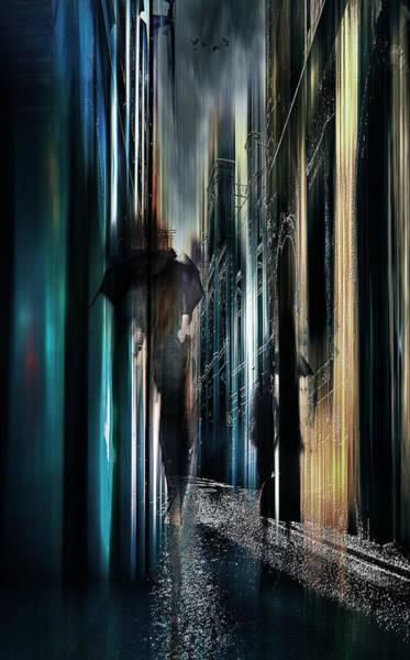 City Scape Digital Art - Night Moves by Tim Palmer
