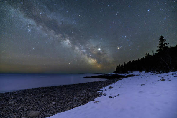 Photograph - Night On Buck Cove by Michael Blanchette