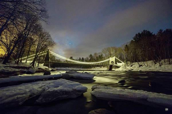 Photograph - Night On The Carrabassett by John Meader