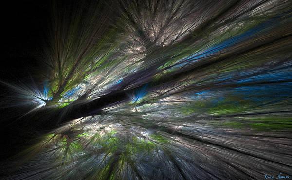 Digital Art - Night Shadows by Rein Nomm