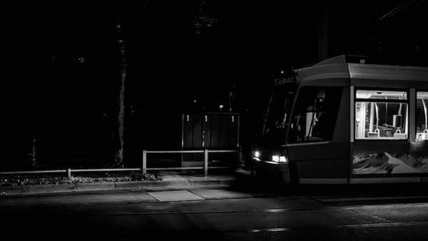 Photograph - Night Train by Borja Robles