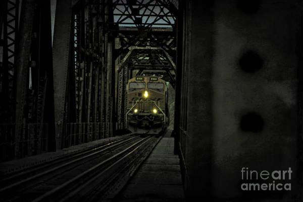 Photograph - Night Train by Diana Mary Sharpton