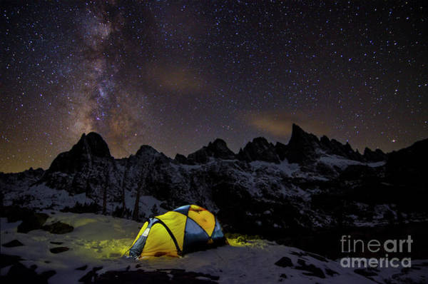Photograph - Night Under The Stars by Peng Shi
