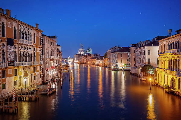 Wall Art - Photograph - Night Venice by Svetlana Sewell
