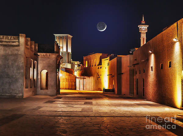 Wall Art - Photograph - Night View Of The Streets Of The Old by Laborant