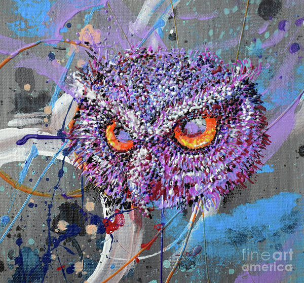 Wall Art - Painting - Night Vision by Cheryle Gannaway