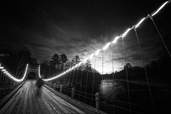 Photograph - Night Walk by John Meader