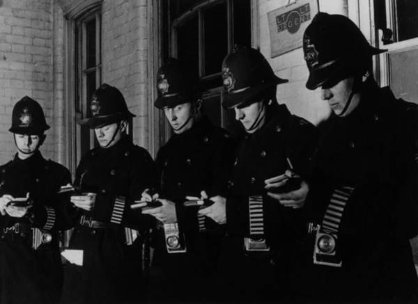 Helmet Photograph - Night Watch by Bill Brandt