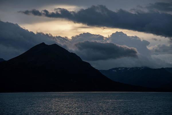 Photograph - Nightfall In Hallo Bay by Mark Hunter