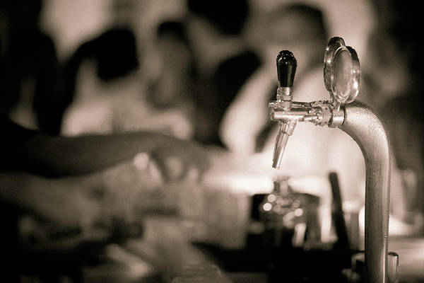 Bar Counter Photograph - Nightlife by Instants