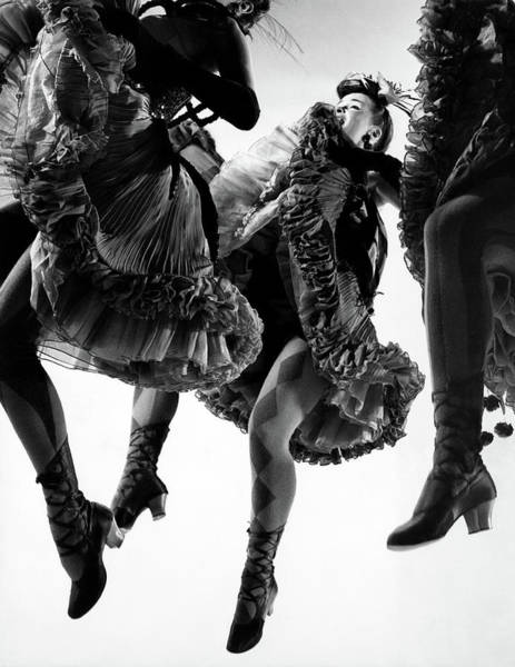 Photograph - Nightmare Ballet In Original Oklahoma On Broadway by Gjon Mili
