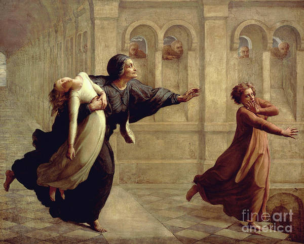 Wall Art - Painting - Nightmare By Louis Janmot by Louis Janmot