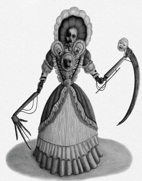 Nightmare Dolly - Artwork Art Print