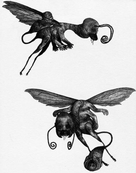 Nightmare Stinger - Artwork Art Print