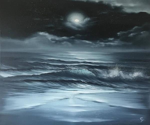 Painting - Nighttime Prayer by Eva Volf