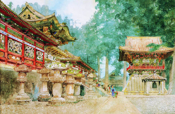 Believers Painting - Nikko - Digital Remastered Edition by Yoshida Hiroshi