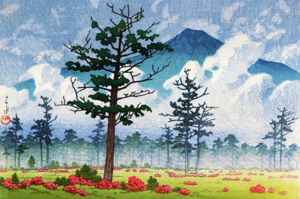 Wall Art - Painting - Nikko, Senjyogahara - Digital Remastered Edition by Kawase Hasui