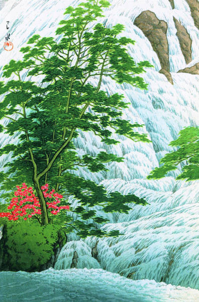 Wall Art - Painting - Nikko Yutaki - Digital Remastered Edition by Kawase Hasui