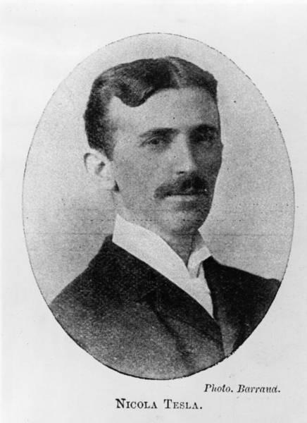 Physicist Photograph - Nikola Tesla by Herbert Barraud