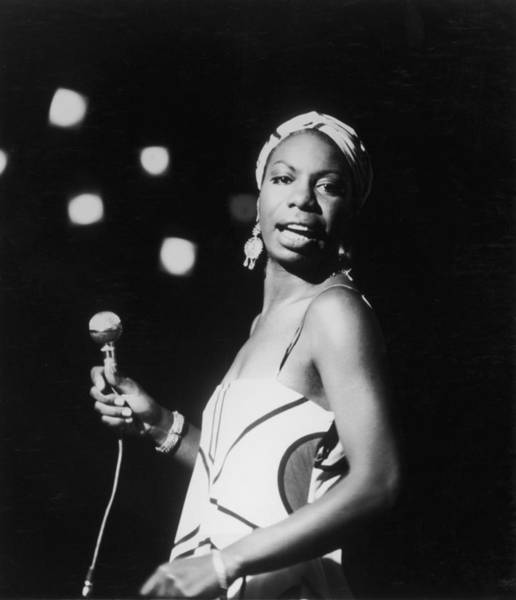 African American Woman Wall Art - Photograph - Nina In Concert by Hulton Archive