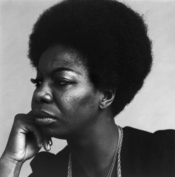 Human Interest Photograph - Nina Simone by Jack Robinson