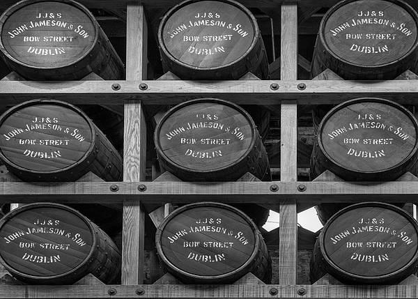 Photograph - Nine Whiskey Barrels by Georgia Fowler