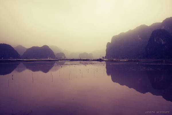 Purple Haze Photograph - Ninh Binh by Joseph Westrupp