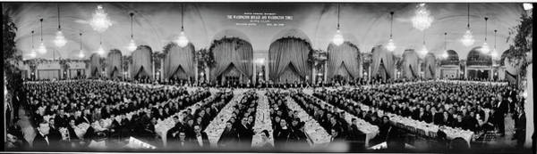 Wall Art - Photograph - Ninth Annual Banquet, The Washington by Fred Schutz Collection