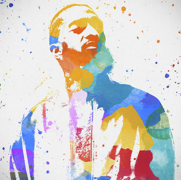 Wall Art - Painting - Nipsey Hussle by Dan Sproul