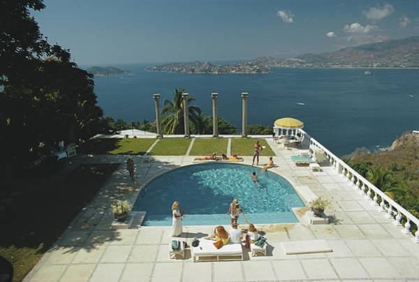 Villa Photograph - Nirvana by Slim Aarons