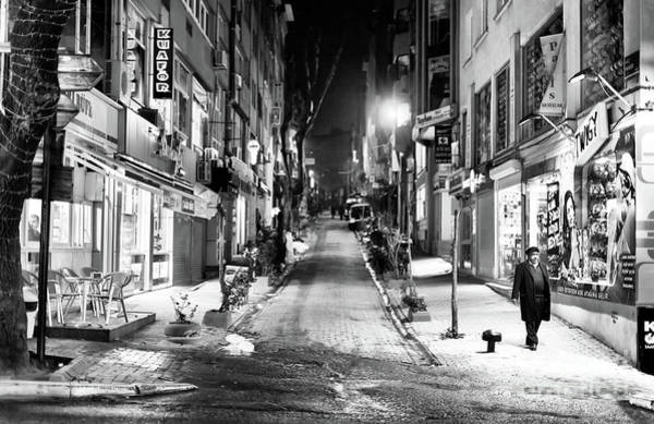 Photograph - Nisantasi Street At Night Istanbul by John Rizzuto
