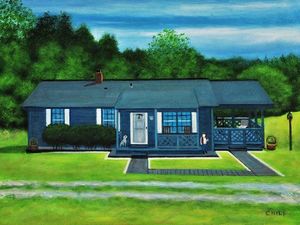 Wall Art - Painting - Nita's Place by Charles Hill