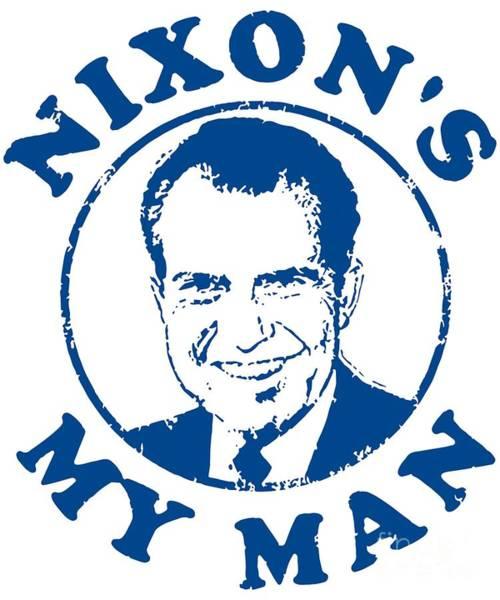 Digital Art - Nixons My Man by Flippin Sweet Gear