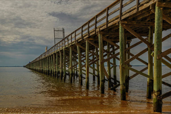 Photograph - Nj Keansburg Fishing Pier  by Susan Candelario