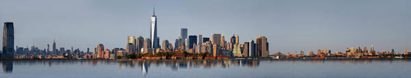 Photograph - Nj Nyc Skyline Panorama by Susan Candelario