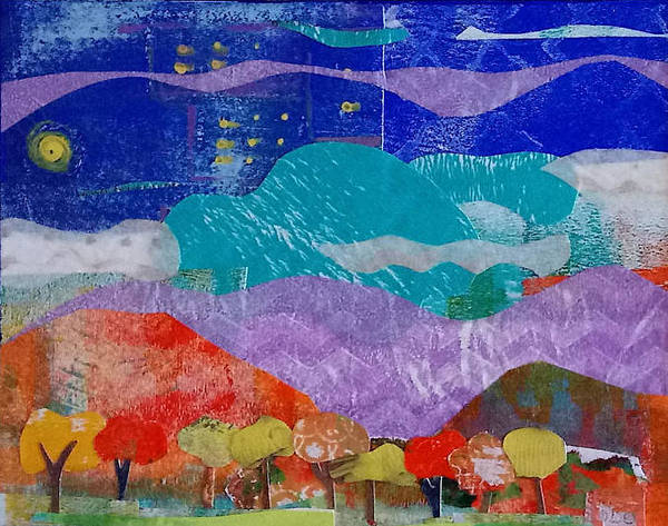 Wall Art - Mixed Media - Nm Landscape by ILona Halderman
