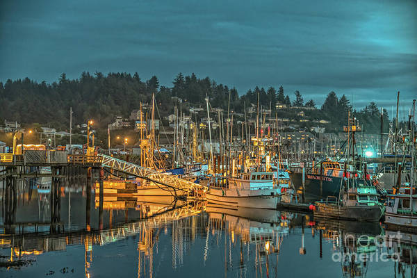 Photograph - Newport Oregon Waterfront by Craig Leaper
