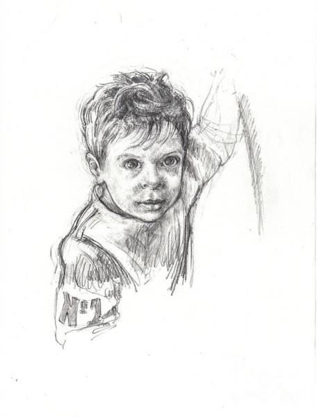 Drawing - No. 1 by Lora Serra