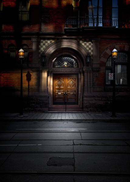 Photograph - No 107 Wellington St W Toronto Canada Color Version by Brian Carson