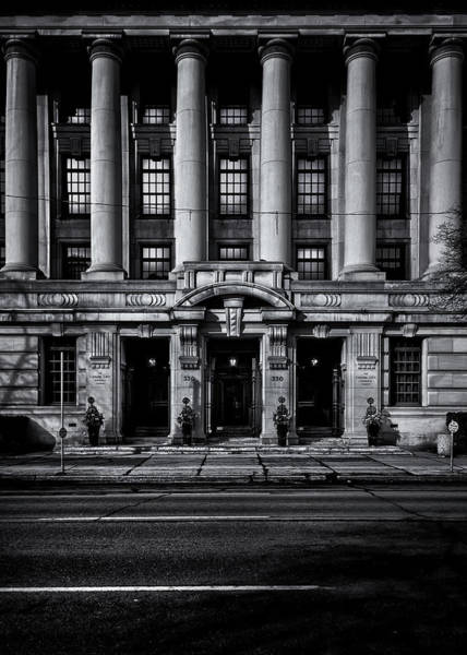Photograph - No 330 University Ave Toronto Canada by Brian Carson