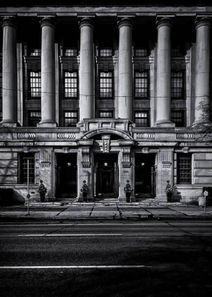 Photograph - No 330 University Ave Toronto Canada by Brian Carson