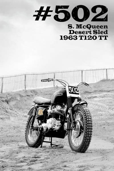 Wall Art - Photograph - No 502 Mcqueen Desert Sled by Mark Rogan
