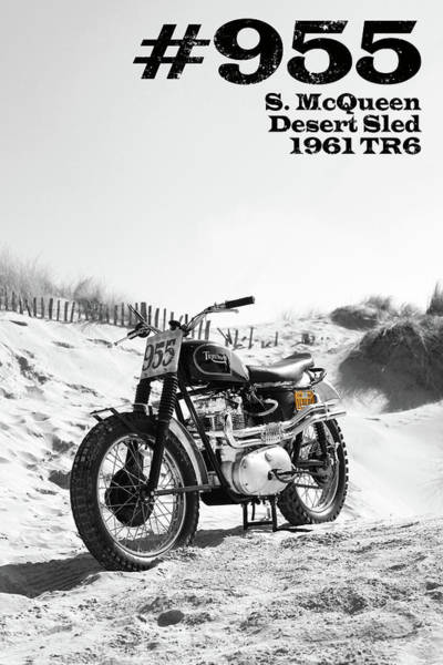 Wall Art - Photograph - No 955 Mcqueen Desert Sled by Mark Rogan