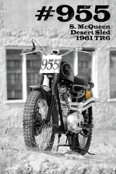 Wall Art - Photograph - No 955 The Mcqueen Desert Sled by Mark Rogan